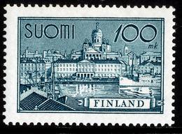 FINLAND 1942-1955 Definitive 100 Mk, MI 260b**MNH - Nuovi