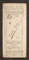 Touring Club Ciclistico Italiano - Tenda - Cuneo - Planimetria E Profili - 1899 - Otros
