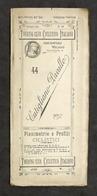 Touring Club Ciclistico Italiano - Cutigliano Pavullo Planimetria E Profili 1899 - Otros