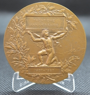 0023 - MEDAILLE 30ème ANIVERSAIRE REVUE DU CANDIDAT - 1967 - Bronze - Autres