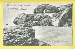 * Saint Gilles Croix De Vie (Dép 85 - Vendée - France) * (F.A. 611 - Cliché Boutain) Les Rochers, Cote De Croix De Vie - Saint Gilles Croix De Vie