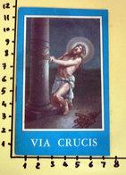 VIA CRUCIS FAVIA ROMA  OPUSCOLO - Religione & Esoterismo