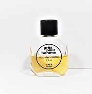 Miniatures De Parfum Grès Pour Homme 7.3 Ml  EDT  De GRÈS - Miniatures Modernes (à Partir De 1961)