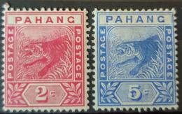 STRAITS SETTLEMENTS / PAHANG - MLH - Sc# 12, 13 - 2c 5c - Pahang