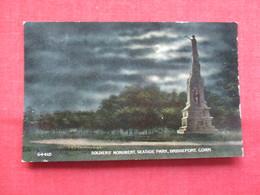 Night View  Soldiers Monument  Seaside Park - Connecticut > Bridgeport  Ref    3566 - Bridgeport