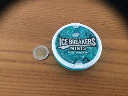 "Boite Etats-Unis ""ICE BREAKERS MINTS - WINTERGREEN"" USA - Boîtes"