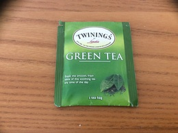 "Sachet De Thé ""TWININGS OF London - GREEN TEA"" Etats-Unis USA - Autres"