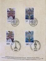 China 1998, FDC Gemeintschaftsausgabe Joint Issue Folder With Germany: UNESCO-Welterbe: Würzburger Residenz - 1949 - ... Volksrepubliek