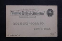 ETATS UNIS - Entier Postal Commerciale Non Circulé , à Voir - L 40059 - ...-1900