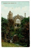 Ref 1326 - Early Postcard - Moxham Castle Sydney - Cape Breton Canada - Cape Breton