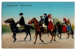 Ref 1326 - 1927 Ethnic Postcard - Sardinia Italy - 75c Rate Cagliari Stazione To UK - Non Classificati
