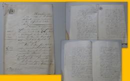 La Haye-Descartes, Châtellerault, Lenclôitre 1861, Construction De PONTS, Dossier 30 Pages Manuscrites Ref 548 ; PAP06 - Historische Dokumente