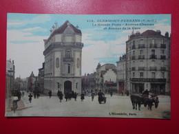 Carte Postale  - CLERMONT FERRAND (63) - La Grande Poste - Avenue Charras Et Avenue De La Gare (3299) - Clermont Ferrand