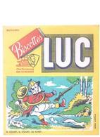 BUVARD :  BISCOTTES LUC : IL COURT, IL COURT LE FURET - Biscottes