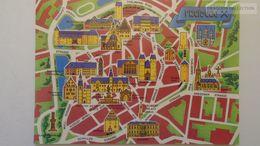 D166782  Map Carte Karte -Germany  FREIBERG - Landkarten