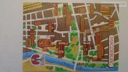 D166783  Map Carte Karte -Germany   MAGDEBURG - Landkarten