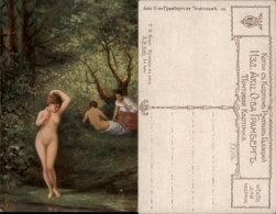 T.B. KORO PAINTING POSTCARD - Malerei & Gemälde