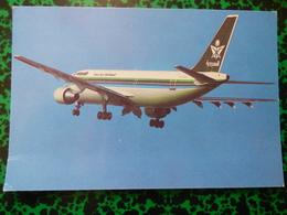 SAUDIA   AIRBUS A 300     AIRLINE ISSUE / CARTE DE COMPAGNIE - 1946-....: Modern Era