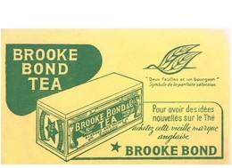BUVARD :  BROOKE BOND TEA - POUR AVOIR DES IDEES NOUVELLES SUR LE THE, ACHETEZ CETTE VIEILLE MARQUE ANGLAISE - Café & Thé