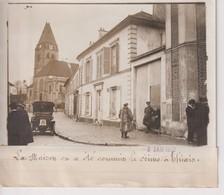 THIAIS PARIS LA MAISON OU A ETE COMMIS LE CRIME 1912 THIAIS 18*13CM Maurice-Louis BRANGER PARÍS (1874-1950) - Lieux