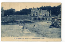 CPA 44 SAINTE MARIE SUR MER Plage Des Grandes Vallées 1923 - France