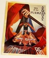 Ancien Autocollant Du Jour Des Forces Armées, Iles Canaries 1986 - Espagne - Aufkleber