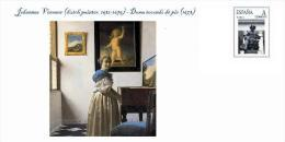 Spain 2014 - Johannes Vermeer (dutch Painter, 1632-1675) - Special Cover - Desnudos