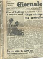 IL  GIORNALE    LOMBARDO    1  PAGINA    29   GIUGNO  1945 --2  FACCIATE  ORIGINALE-- PRORE  AL  CIELO--HITLER  SI E'  U - War 1939-45