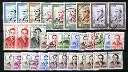Morocco Maroc Marokko Between 1956 - 1965, Lot Of 30+ Stamps (o), Used - Marokko (1956-...)