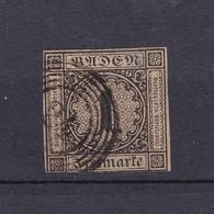 Baden - 1851 - Michel Nr. 1 B - 320 Euro - Baden