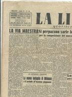 LA  LIBERTA'     1  PAGINA    5  GIUGNO  1945 --2  FACCIATE  ORIGINALE--  IL  PROCESSO  DI  DONGO - War 1939-45