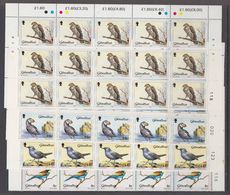 Gibraltar 1988 Birds 4v (15xc) ** Mnh (F7973) - Gibraltar