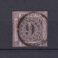 Baden - 1851 - Michel Nr. 4 B - 35 Euro - Baden