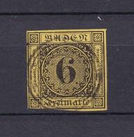Baden - 1854 - Michel Nr. 7 - 35 Euro - Baden