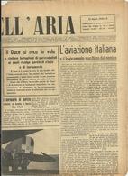 LE  VIE  DELL'ARIA    19  APRILE  1942  XX L'AVIAZIONE  ITALIANA ILDUCE  IN  VOLO GIORNALE  ORIGINALE - War 1939-45