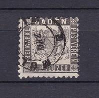 Baden - 1864/66 - Michel Nr. 17 C - 380 Euro - Baden