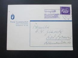3. Reich 1941 Hitler EF Hotelpostkarte Hotel Comödienhof Köln (Cologne) - Deutschland