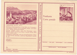 Entier  Postal Stationery - Autriche / Österreich - Hermagor, Kärnten, 612m - Etat Coins Supérieurs Voir Scan - Entiers Postaux