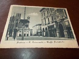 B733  Padova Universita Caffe' Pedrocchi Viaggiata Pieghe Angoli - Padova