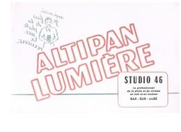 BUVARD :  ALTIPAN LUMIERE STUDIO 46 - LE PROFESSIONNEL DE LA PHOTO ET DU CINEMA  A  BAR SUR AUBE (Aube) - Cinéma & Théatre
