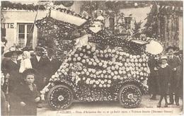 Dépt 21 - SAULIEU - Fêtes D'Aviation Des 11 Et 12 Août 1912 - Voiture Fleurie (Docteur Simon) - Saulieu