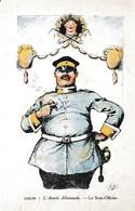 ARMEE ALLEMANDE SOUS OFFICIER VU PAR ZISLIN  REF 60750 - Personaggi