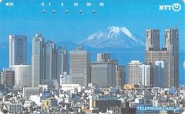 MONT FUJI - PAYSAGE - MONTAGNE - MASSIF - NATURE - LANDSCAPE - MOUNTAIN  - Télécarte Japon - Montagnes