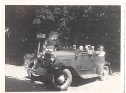 Automobile C.1930 Photo 8x10cm - Automobiles