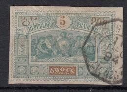 Obock Méhariste 5c Vert & Bleu N°50 - Obock (1892-1899)