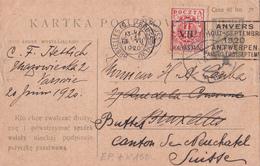 Entier  Postal Stationery - Pologne - 1920 - EP + Timbre N° 150 - Etat Moyen Voir Scans - Entiers Postaux