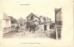 Dépt 50 - AGON-COUTAINVILLE - Le Char De La Reine De La Plage - (collection G. Percepied N° 12) - Cavalcade - France
