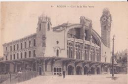 CPA - ROUEN - 82. Gare De La Rue Verte - Rouen