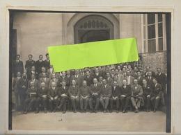 D 06 GRASSE PHOTO USINE CHIRIS 1927  PERSONNEL ET PARFUMEUR GRASSOIS ELIE  MAUNIER N058 - Geïdentificeerde Personen