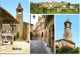 24170 BELVÈS - Lot De 2 CPM - Voir Détails Dans La Description - Otros Municipios